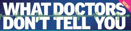 what doctors don't tell you magazine logo