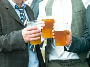 Royal drinking feast at Ascot